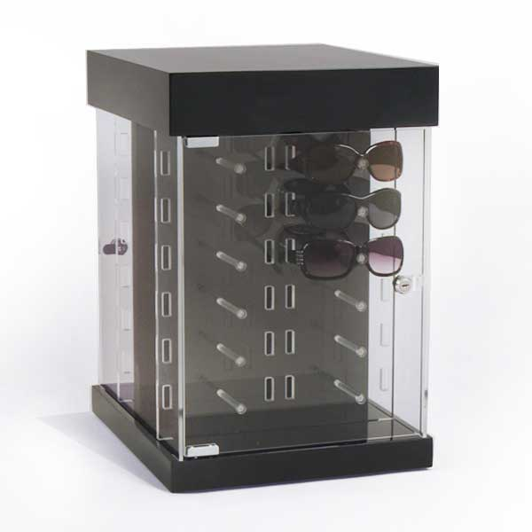 High-end brand L-type acrylic glasses display holder for window display 2521