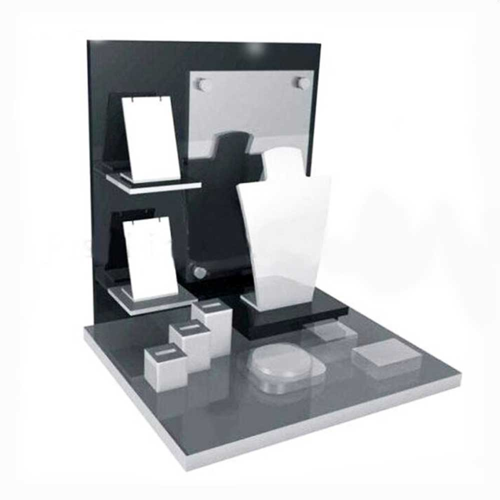 Acrylic jewelry stand acrylic display stand jewelry standing