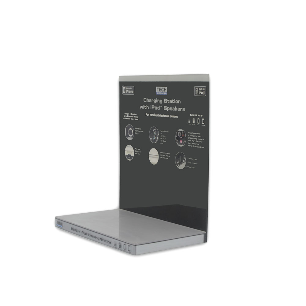 Professional customized L-type acrylic electronic product display stand