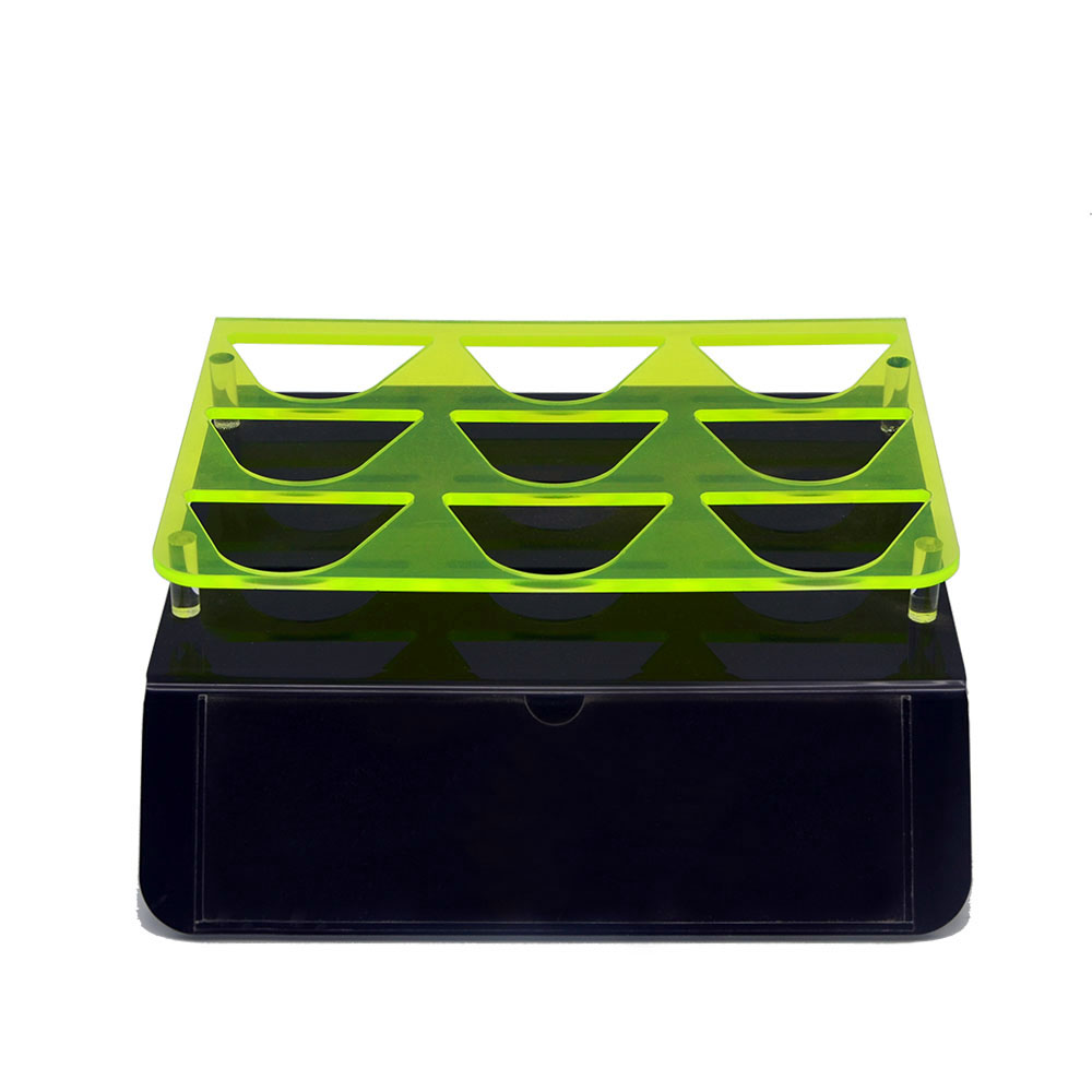 Acrylic Electronic Product Display Rack With Fluorescent Materials