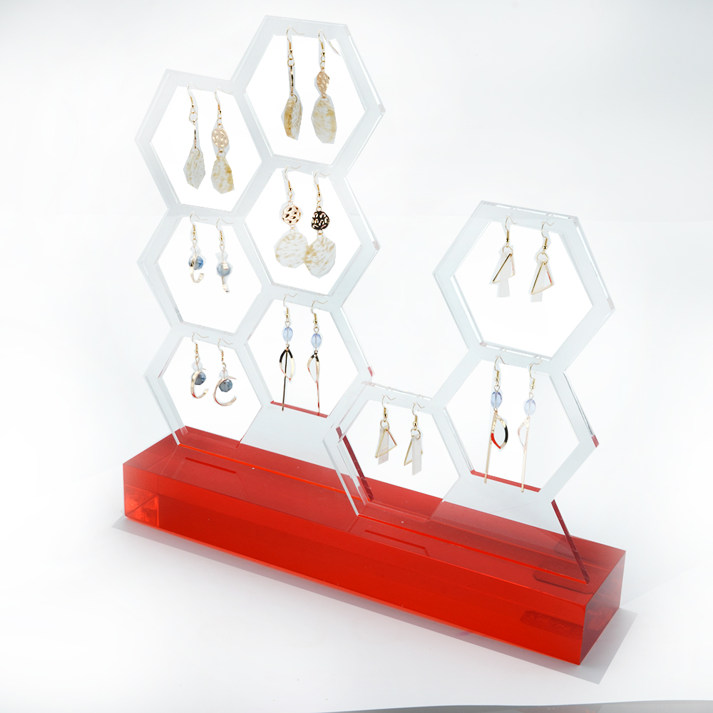 Earring Display Stand For Acrylic Jewelry Display 3214