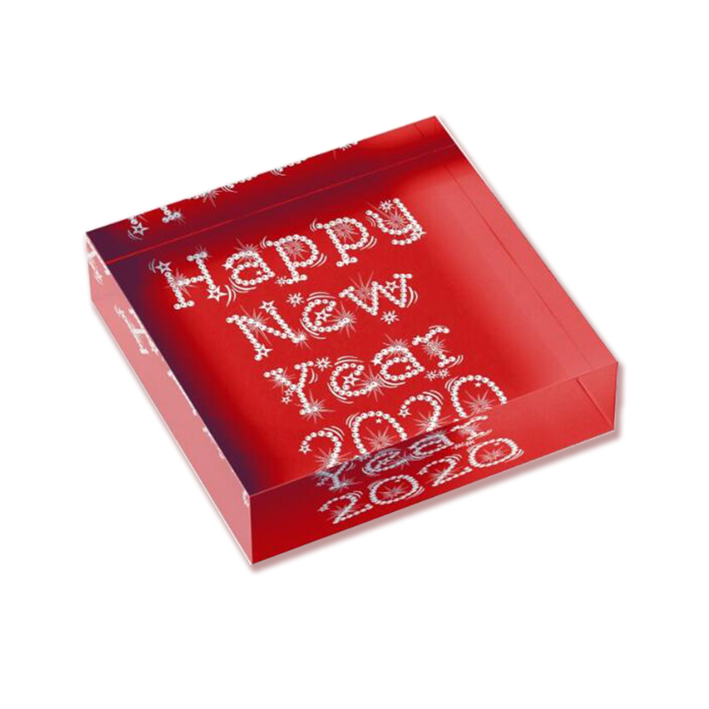 Display Block For New Year Gift