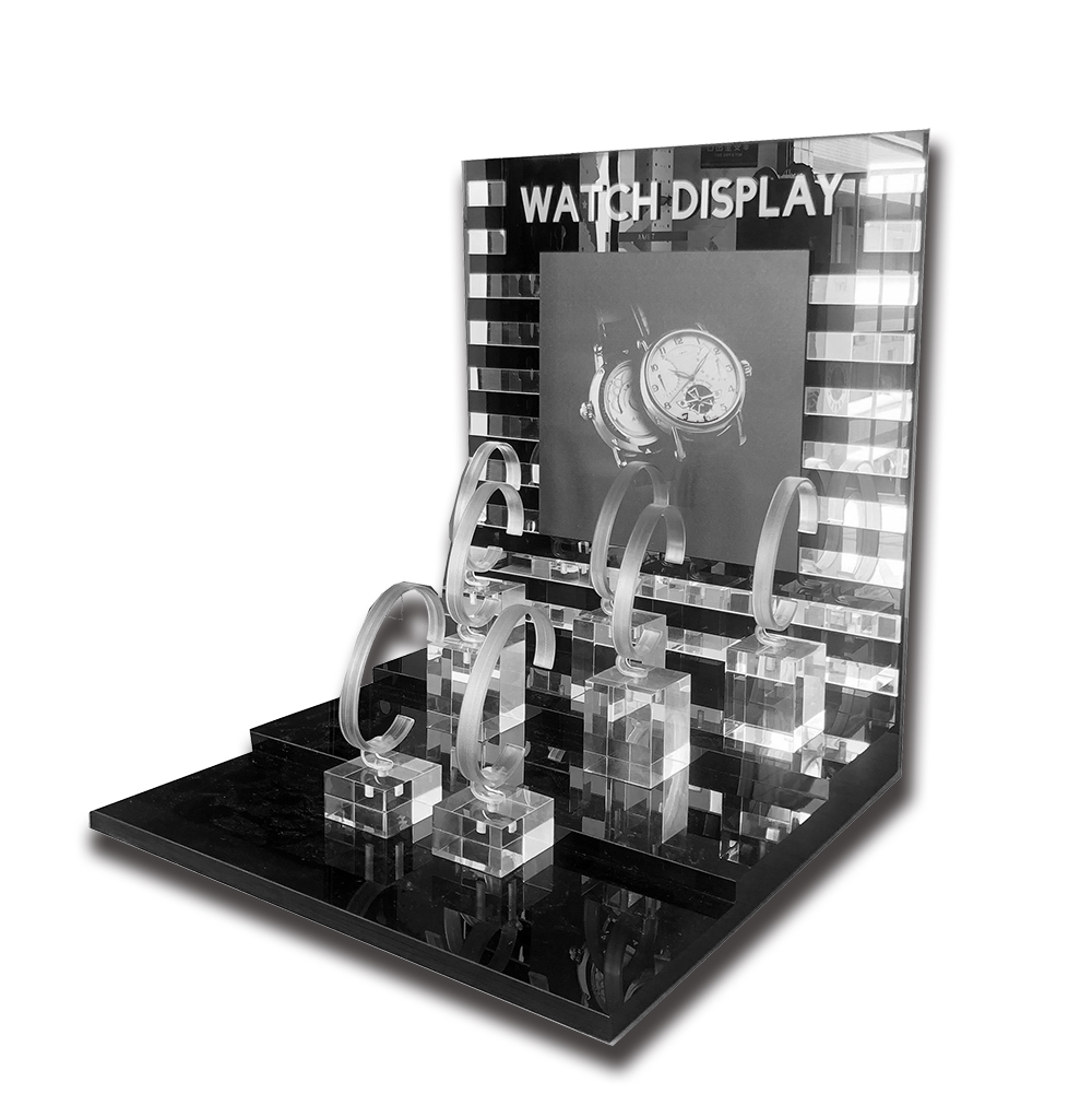 Acrylic Watch Display Stand Rack