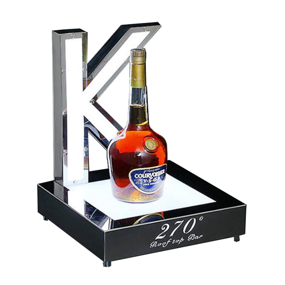 Lighted Liquor Wine display base
