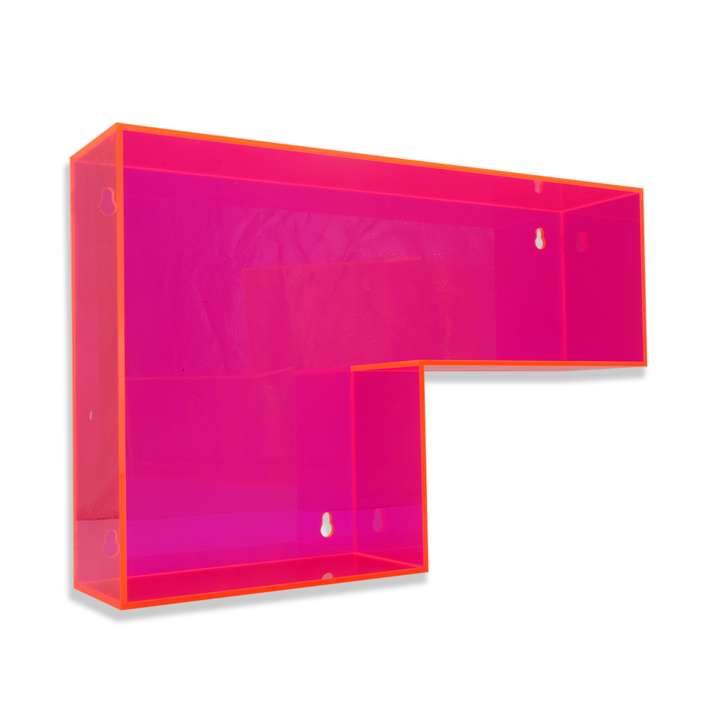 AMET Combined display Customized Clear Acrylic Bracket for Acrylic Product Display stand