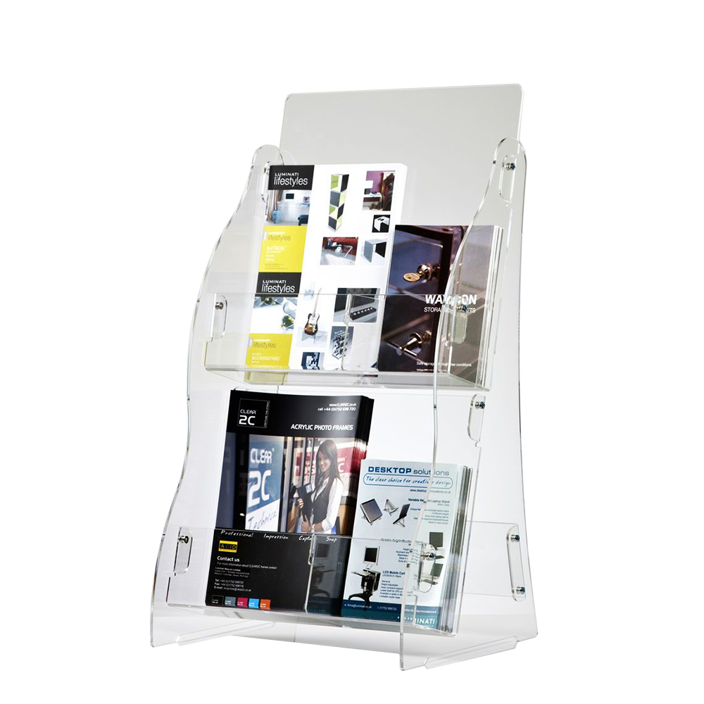 Acrylic Countertop Brochure Composable Holder