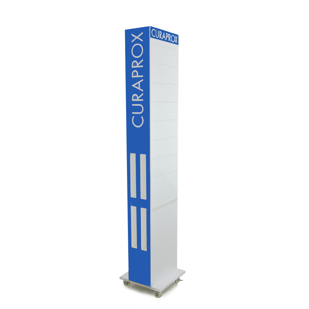 Advertising Creative Promotional Store Acrylic Floor Display Rack