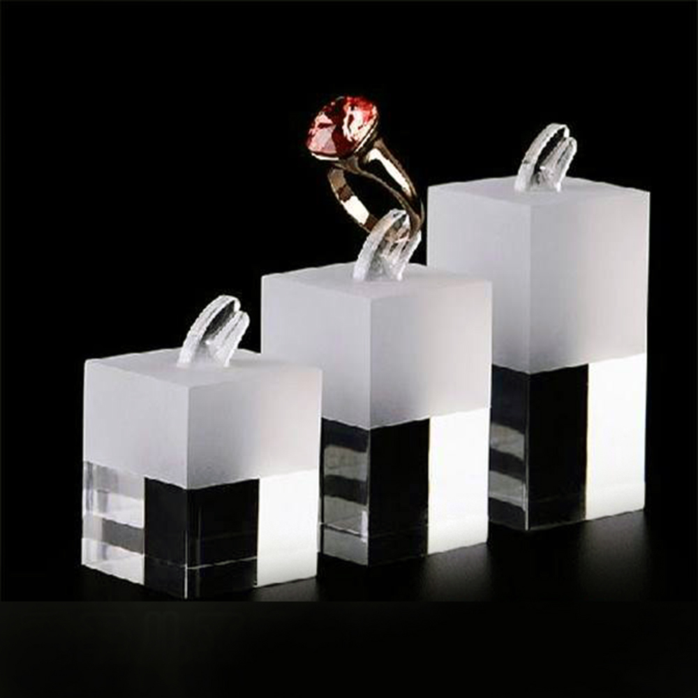 Decorative Luxury Custom Acrylic Jewelry Display Box For Acrylic Earrings Display 5554