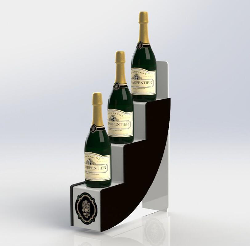 Acrylic Wine Bottle Display