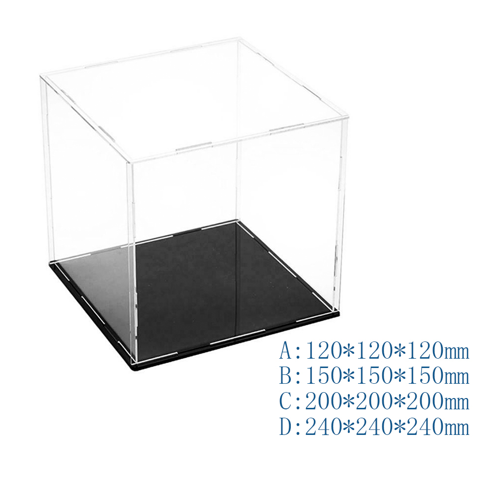 Display Case Dustproof Model Toy Showcase Action Figures Show Clear Box