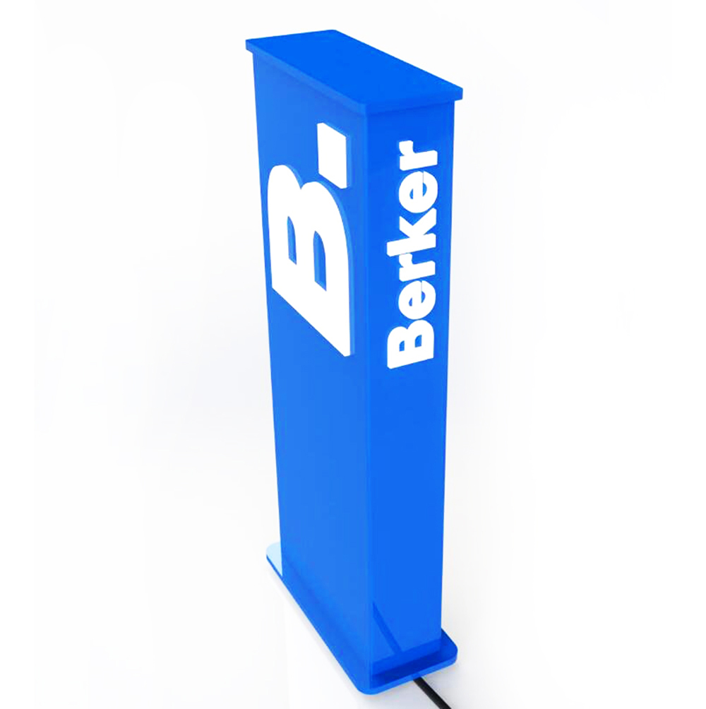 LED Floor Display Stand