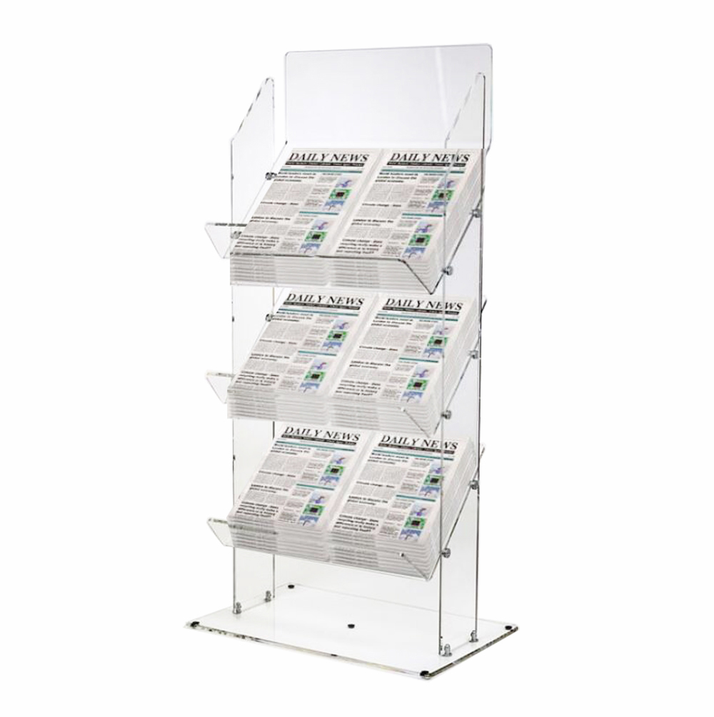 Tabloid Newspaper Display Stands