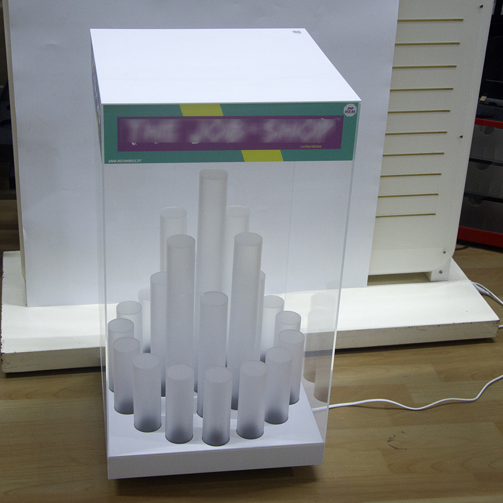 LED Toy Display Stand with Rotate