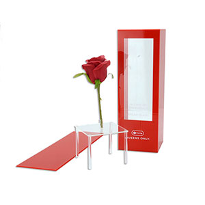 Acrylic Rose Display Box