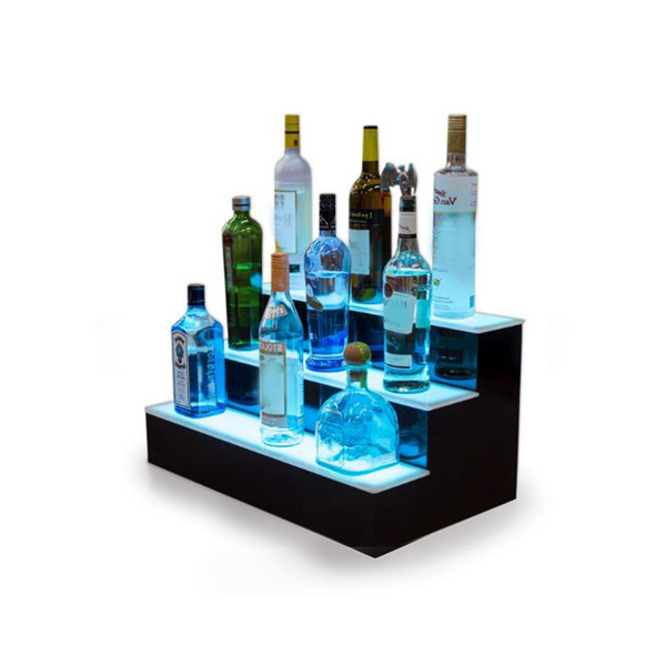 Led Acrylic Wine Display Steps