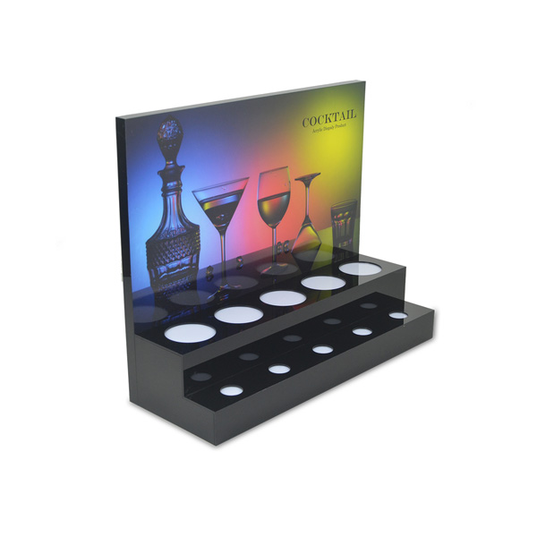 Two Layer Acrylic Led Wine Base